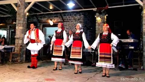 Görög vacsoraest