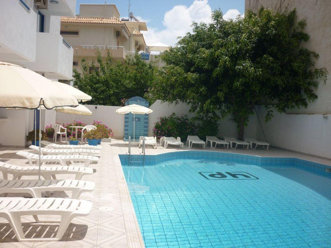 Görögország 2021 BUD - Kréta üdülés - Hersonissos Central Hotel