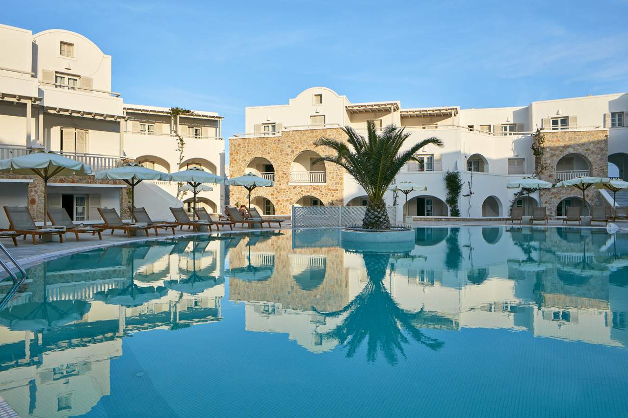 Görögország 2021 - Santorini BUD - Aegean Plaza Hotel