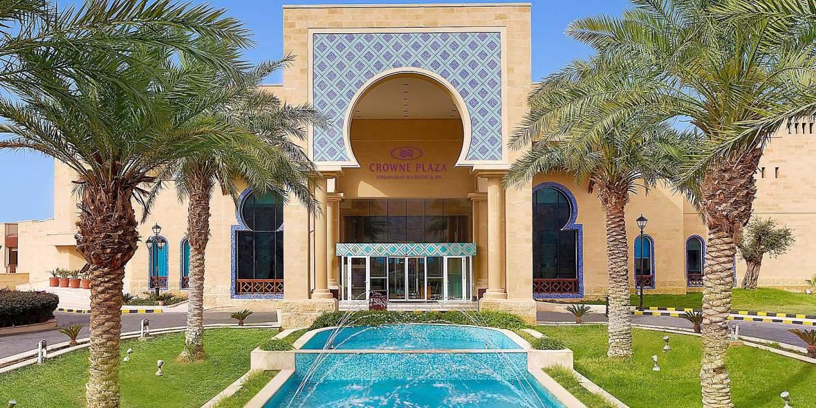 Jordánia 2019-2020 - Üdülés a Holt-tengernél - Crowne Plaza Jordan Dead Sea Resort  Spa