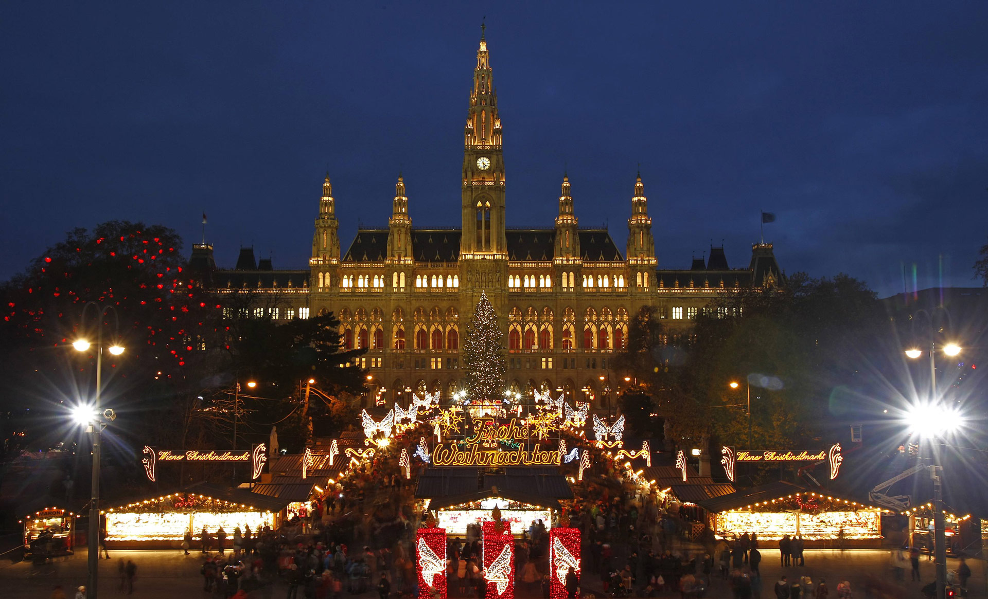 Ausztria 2020 - Advent Bécsben - Bécs, Szállás nélkül